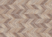 Замковая напольная пробка Corkstyle Chevron Brown в Челябинске